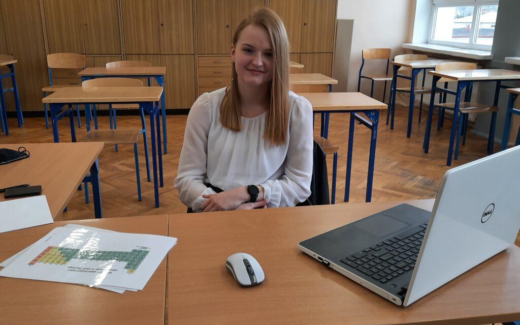 Marta Majchrzak - laureatka Konkursu Kuratora z hemii